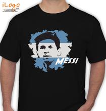 Brazil football World Cup messi-la-pulga-atomica T-Shirt