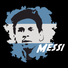 Brazil football World Cup messi-la-pulga-atomica T-Shirt