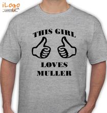 Brazil football World Cup thomas-muller-t-shirt T-Shirt