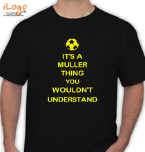 Brazil football World Cup Thomas-M%FCllerS T-Shirt