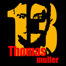 Brazil football World Cup Thomas-Muller T-Shirt
