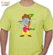 Govinda aala re krishna-dancing T-Shirt