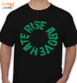 RISE ABOVE HATE - T-Shirt
