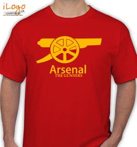 ARSENAL-Gunners - T-Shirt