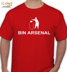 BIN-ARSENAL - T-Shirt