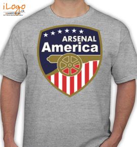 AMERCA-ARSENAL - T-Shirt