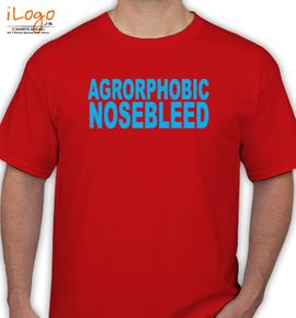 agoraphobic nosebleed - T-Shirt