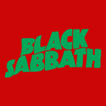 BlackSabbath-logopatch T-Shirt