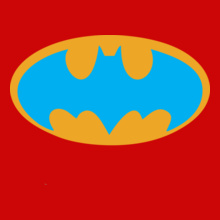 batman-glow-logo-t-shirt- T-Shirt