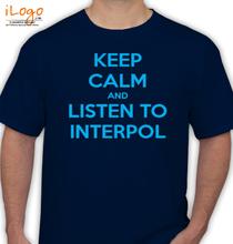 Interpol keep-calm T-Shirt