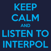 Interpol keep-calm T-Shirt