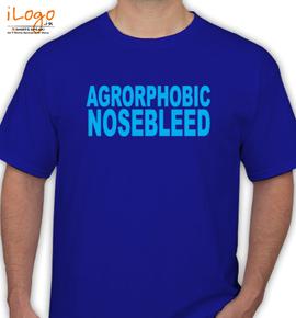 agoraphobic  - T-Shirt