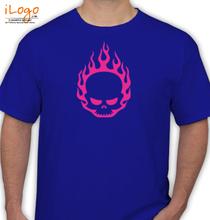 In Flames -Heart T-Shirt