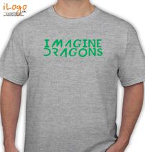 Imagine Dragons white.u T-Shirt