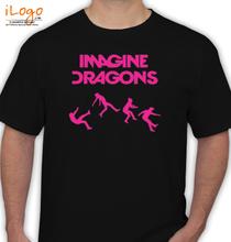 Imagine Dragons %Cwhite.u T-Shirt