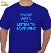 Hawkwind smoke-weed T-Shirt