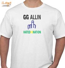 GG Alin GG-Allin- T-Shirt