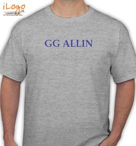 gg allin  - T-Shirt