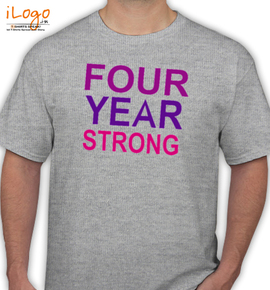 four year strong t - T-Shirt