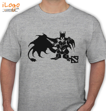 Dota 2 dota--davion-the-dragon-knight-by-creative-ghost T-Shirt