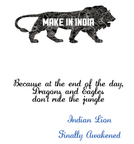 make in india t shirt