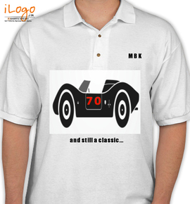 MBK Personalized Polo Shirt at Best Price [Editable Design] India