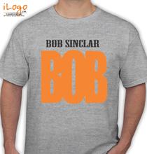 Bob Sinclar bob-sinclar-bob T-Shirt