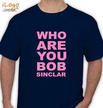 Bob Sinclar who-are-you-bob-sinclar T-Shirt