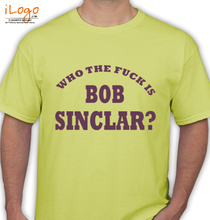 Bob Sinclar who-the-funk-is-bob-sinclar T-Shirt