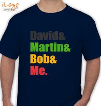 Bob Sinclar david-martin-bob-me T-Shirt