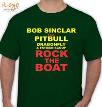 Bob Sinclar bob-sinclar-rock-the-boat T-Shirt