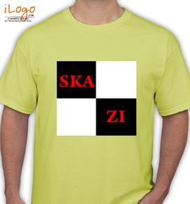 skazi-yellow-design - T-Shirt