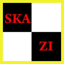 skazi-yellow-design T-Shirt