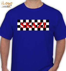 skazi-blue - T-Shirt