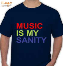 Cosmic Gate music-is-my-sanity T-Shirt