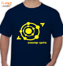 Cosmic Gate cacosmic-gate-yellow T-Shirt