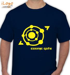 cacosmic-gate-yellow - T-Shirt
