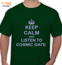 Cosmic Gate keep-calm-cosmic-gate T-Shirt