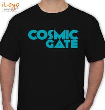 cosmic-gate-black T-Shirt