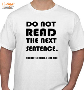 DO NOT READ - T-Shirt