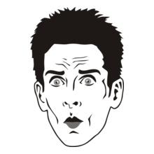 Zoolandered-Face T-Shirt