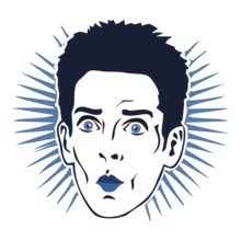 Comedy Zoolander-Face T-Shirt