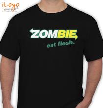 Zombies Zombi-zombie-eat-flesh T-Shirt