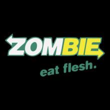 Zombi-zombie-eat-flesh T-Shirt