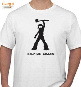 Zombi-Zombie-Killer-by - T-Shirt