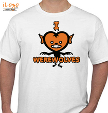 Horror Wolf-Man-werewolf T-Shirt