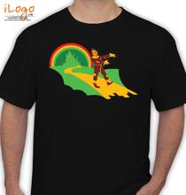 Horror Wizard-of-Oz-scarecrow-zombie T-Shirt