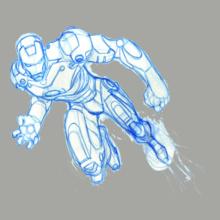 IRON-MAN- T-Shirt
