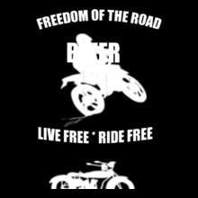 Biker biker- T-Shirt