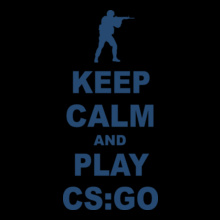 Counter Strike keep-calm-and-play-cs-go T-Shirt